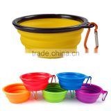 Premium Portable Collapsible Silicone Pet Bowl for Food and Water