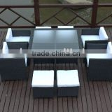stylish rattan dining ste or dining room set