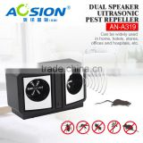 Aosion manufacturer dual ultrasonic speaker moths and rodent repeller