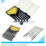 6pc Precision Screwdriver Set Micro Jewelers Mini Watchmakers Phillips Slotted + 4Flat Head Tools