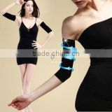 New Thin Arms Forearms Hands Shaper Burn Fat Belt Compression Arm Slimming Warmer 420 D 19915