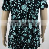 Factory direct price casual invisible green design your own girls fancy blouse