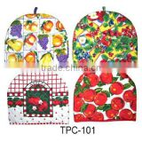 100% cotton with high quality hot sales teapot cover