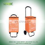 polyester 420d reusable and gife shopping trolley cart