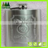 Men's Portable Stainless Steel Hip Flask Alcohol Whiskey Liquor Wine Pot Flagon 5OZ