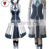 Rose Team-Fairy Tail Rain Woman Juvia Lockser Blue Evening dress Anime Sexy Halloween Carnival Costume