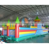 Hot !! Best selling inflatable funland / clolorful inflatable obstacle course / wholesale inflatable playground
