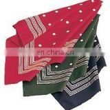 100% Cotton men's sombre printed Handkerchiefs