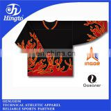 Customized sublimation printing polyester ice hockey shirts manufacturer