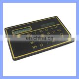 Classic Black Solar Panel Calculator for Students