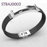 Stainless Steel Bracelet Blanks Magnetic Men Handmade Braided Bracelets