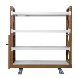 Steel Mobile Pallet Racking Heavy Duty warehouse rack