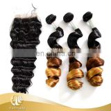 High Quality Best Selling 100% human ombre hair braiding hair