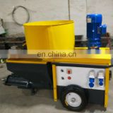 220v/diesel motor automatic sand mortar spraying pump machine/wall cement plaster machine for construction