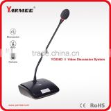 YC836 video conference system/professional audio equipments conference table microphone