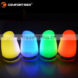 LED Colorful Wireless Table Lamp Dimmable Lamp with USB Port use in hotel and restaurant