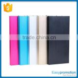 7000mAh real capacity alloy portable charger power bank with super slim design OEM acceptabled