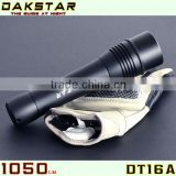 DAKSTAR DT16A CREE XML T6 1050LM 26650/18650 CREE LED Rechargeable IP68 Diving Flashlight Torch