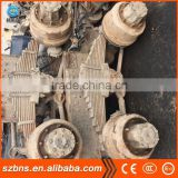 Used European Japan car trailer axles and parts