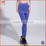 Latest style skinny sport joggers women trousers
