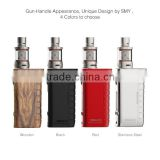 LeZT New Arrival SMY dna75 Evolv DNA75 chip evolv dna75 tempered box mod, free vape pen starter kit sample