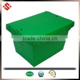 2015 PP carry box with handles & corrugated plastic postal tote