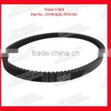 Part Number 23100-KZL-9310-M1 Motorcycle V Belt Bando Go Kart Drive Belt For Honda Vision/Vario With High Quality