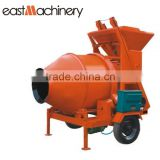 JZC350 Roller Drum Concrete mixer with Hydraulic type diesel engine portable concrete mixer