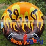 Inflatable snow sledge,inflatable snow tube,inflatable snow ring,inflatable baby snow sled