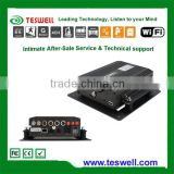 Mobile dvr with GPS 3G WIFI 4 ch heavy duty MDVR for bus truck taxi CE FCC certificate passed