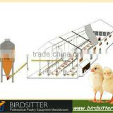 birdsitter ISO9001 qualified automatic broiler poultry farm house design