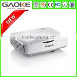 Full HD 1080p 3d led projector home theater connected to the mobile android wifi DLP laser projector