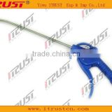 plastic air blowing dust gun with long nozzle and cover