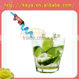 Decorative bar accessories fun long drinking straws