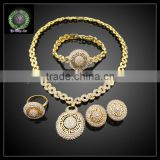 2016 New Arrival African Gold Plated Jewelry set which for Wedding jewelry set Match Clothes BHK651