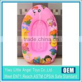 OEM PVC mini inflatable boat for child
