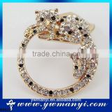 Hot sell super online shopping india gold filled jewelry dubai brooch for wedding invitations B0023