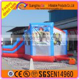 Wonderful inflatable the Hulk bouncy castle/inflatable bouncer slide/inflatable combo bouncers