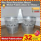 new design custom made metal flowerpot stands