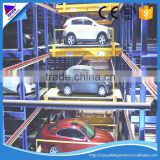 auto parking system ce certificate underground garage lift pallet lifting device full automatic stacker car park system