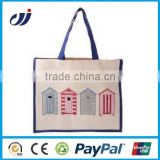 120g reusable cotton bags for shopping/cotton net shopping bags/reusable shopping cart bags
