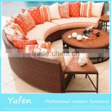 Best royal half round patio furniture sofa sets                                                                                                         Supplier's Choice