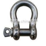 High Strength Electro Galvanized European Type Large bow Shackle