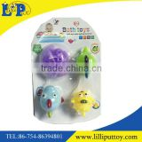 Cute 4pcs baby water spray bath toys
