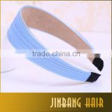 2016 New premium polyester material material ribbon material and women type promentional headband