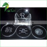 High quality clear round craft acrylic disc