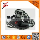 Wholesale lace up baseball boots high top MVP men's cleats black white soccer baseball sport trainers shoes