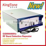 GSM long distance repeater 20km high power GSM repeater 43dBm repeater amplificatore GSM mobile signal booster with accessories