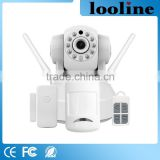 Looline Smart Wireless Home Security Alarm System With PIR Motion Sensor And Door Sensor Smoke Detector