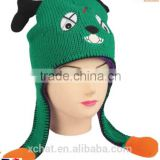 Hairwake OEM factory new product cartoon hat bluetooth beanie hat winter hats with strings